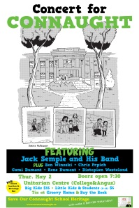 Concert poster for web