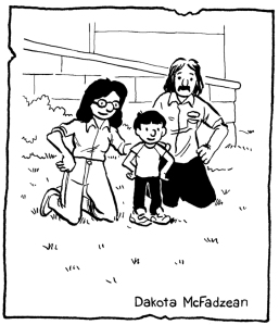 Connaught family by Dakota McFazdean